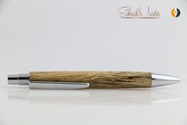 »Libby« Klick-Kugelschreiber, Buche gestockt, natur