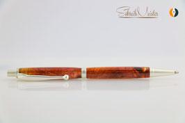 »Finley« Bleistift, Wacholder XG, satiniertes Silber
