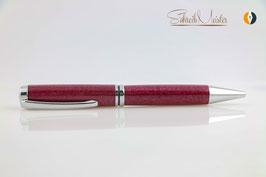 »Grande« Drehkugelschreiber, Purple Heart, Chrom