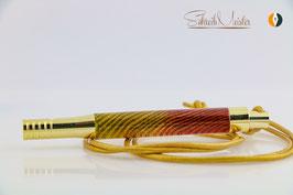 »Doggie« Esche XG, Gelb-Rot, Gold