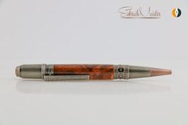 »Celtic Fairy« Dreh-Kugelschreiber, Weichsel XG, Antik-Kupfer, polierter Stahl