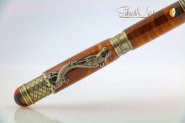 »Drachen Stift«, Weichsel XG, Antik Messing