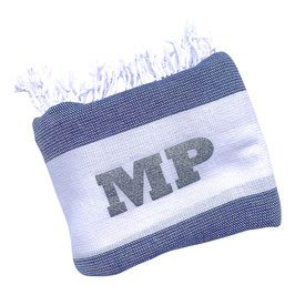 *monogram towel light* blue