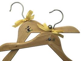 *babies & kids* Kinderkleiderbügel handbemalt / children hanger handpainted