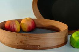 Obstschale aus Apfel oder Kirschbaum