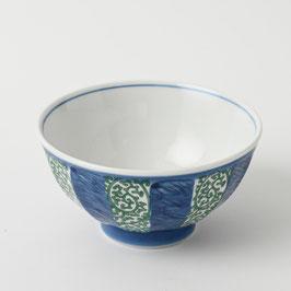 "☆ Rice bowl ""Tako Karakusa"" green"
