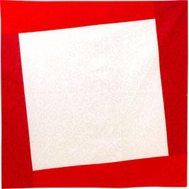"☆Hare-Tsutsumi ""Karakusa"" Japanese arabesque, Red"