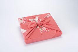 ☆Chirimen Furoshiki -Hana-Mari Usagi-