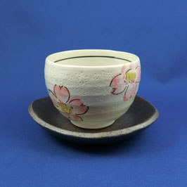 "☆Teacup with saucer  ""SAKURA"" 220 ml"