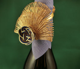 ☆ MIZUHIKI Bottle Ribbon - copper gold