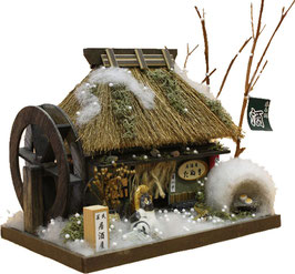 ☆ Thatched Roof House kit -WINTER-