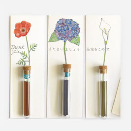 "☆Incense message card ""Ichi-Rin-Koh"""