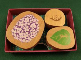 """☆ stamp set """"Hydrangea"""" - """"Hortensie"""""""