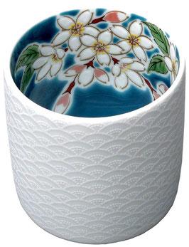 ☆ KUTANI Porcelain cup -SAKURA- ☆