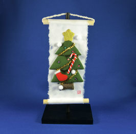 "☆ Hanging scroll ""Christmas tree"" ☆"