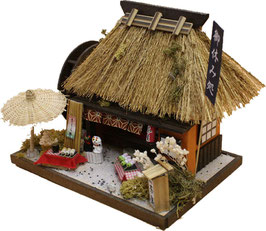 ☆ Thatched Roof House kit -SPRING-