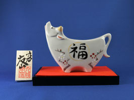 "☆ Eto-Zodiac figurine OX ""Fukuume"""