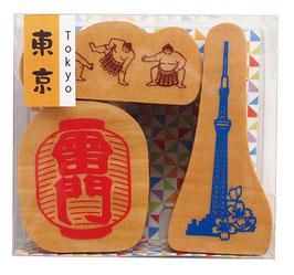 "☆ stamp set ""TOKYO"""
