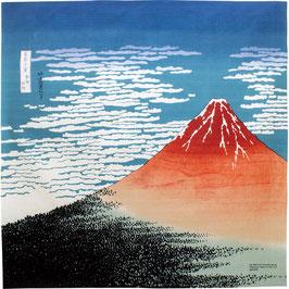 "☆104cm Ukiyoe ""Red Fuji/Hokusai"""