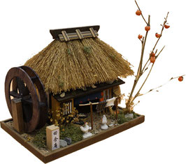 ☆ Thatched Roof House kit -AUTUMN-