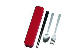 ☆ Cutlery Set <Red>