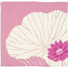 ☆ Chirimen Yuzen Lotus, Pink