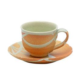 """Shigaraki Coffee cup """"HI-IRO - scarlet """""""