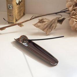 "☆ Incense holder ""asumi"" brown"