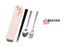 ☆ Cutlery Set <Sakura-pink>