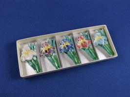 "☆ Chopstick rest ""Iris"" (set of 5)"