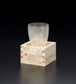 ☆ SAKE Glass MASU Cup set