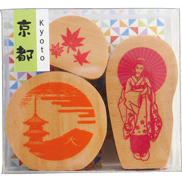 "☆ stamp set  ""KYOTO"""