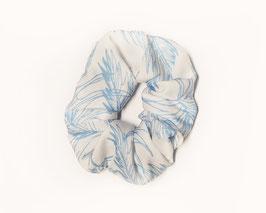 Palme blau-weiß