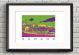 """Poster """"Samaná"""""""