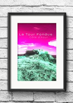 """Poster """"La Tour Fondue"""""""