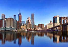 "Leinwand ""New York Skyline"" - USA"