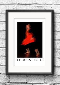 """Poster """"Dance Rouge"""""""