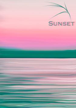 "Poster ""Sunset"""