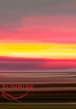 "Poster ""Sunrise"""