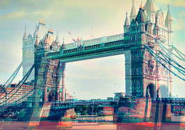 "Leinwand ""Tower Bridge"" - London"