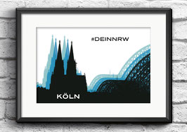 "Poster ""Köln"" | #DEINNRW"