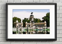 """Poster """"Parque del Retiro"""" - Madrid"""