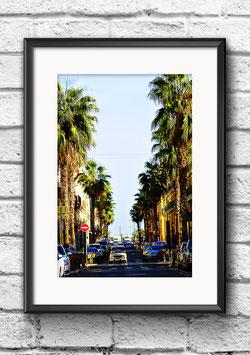 """Poster """"Dans la Rue"""" - Sète"""