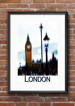 "Poster ""Big Ben"" - London"