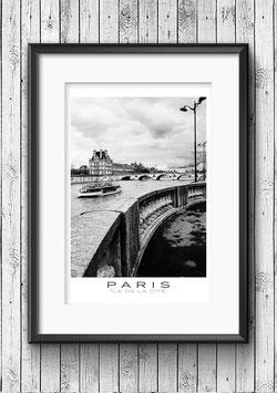 """Poster """"Île de la Cité No.1"""" - Paris"""