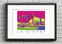 """Poster """"La Ciotat"""""""