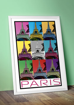 "Poster ""Le Tour Eiffel"" - Paris"