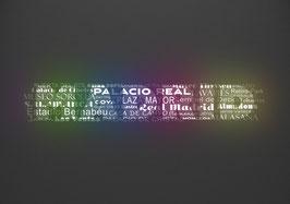 """Ihr individuelles Städteposter """"Typografie"""""""