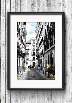 "Poster ""Malasaña"" - Madrid"