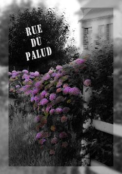 """Poster """"Rue du Palud"""" - Bretagne"""
